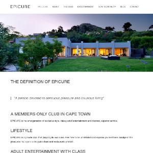 Cape Town Members Only Gentlemen's Club | EPICURE