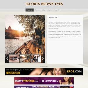 Sexy Brown Eyes | European Escort Agency